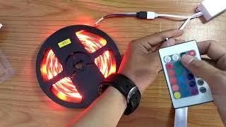 Cara pasang LAMPU STRIP LED RGB den...