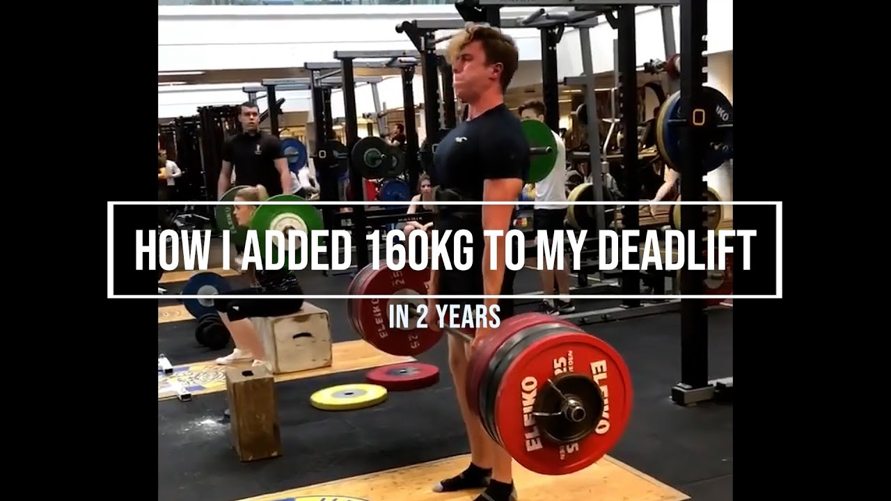 How I deadlifted 280kg (120kg to 280kg in 2years)