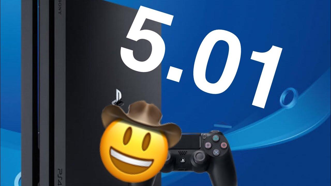 LA MISE A JOUR PS4 5.01