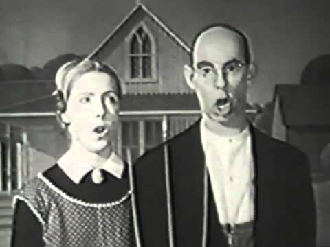 Country Corn Flakes Commercial   American Gothic