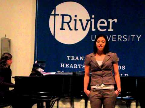 Voices of Rivier University Fall 2012