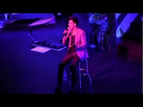 [HD] Adam Lambert - Whataya Want From Me Live in Singapore 2013