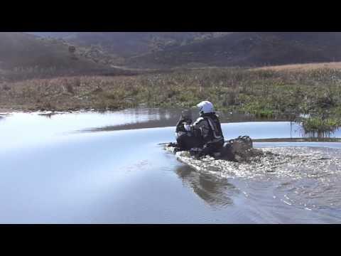 Adventure biking in Swaziland.