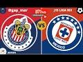 CHIVAS VS CRUZ AZUL  ¡¡EN VIVO GUARDIANES 2020 LIGA MX!! (NARRACIÓN RADIO)