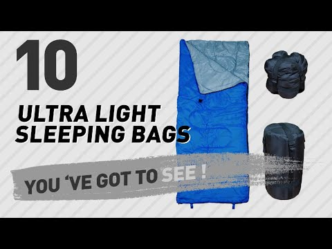 Ultra Light Sleeping Bags // The Most Popular 2017