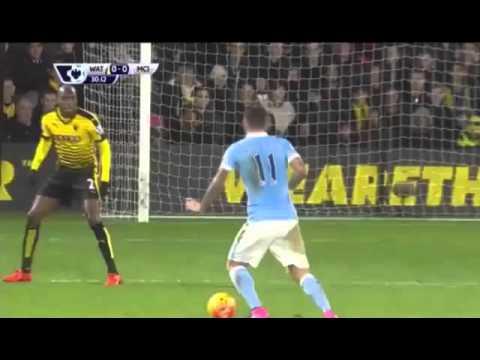 Уотфорд 1:2 Манчестер Сити   Чемпионат Англии 2015/16   Премьер Лига   20-й тур   Обзор матча