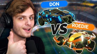 DON VS ROEDIE DOEN EEN 1v1 | Rocket League