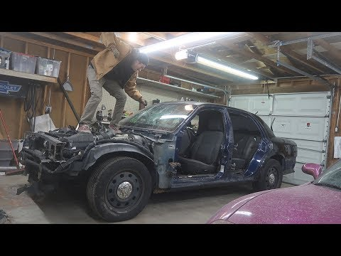 COP KART | The Cop Car Death Kart Project!