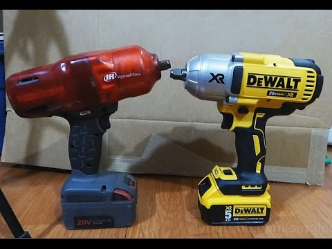 dewalt dcf899 vs w7150 size comparison youtube. Black Bedroom Furniture Sets. Home Design Ideas