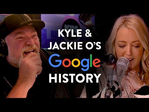 Kyle & Jackie O&39;s Google Search History Revealed KIIS1065