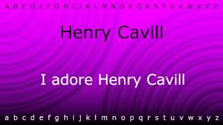 Here I will teach you how to pronounce 'Henry Cavill' with Zira.mp4