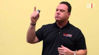 Goal setting presentation by Matt Manero quoting Grant Cardone