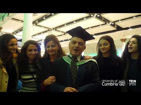University of Cumbria Robert Kennedy College Online LLM Graduate Basil Abuhamdieh