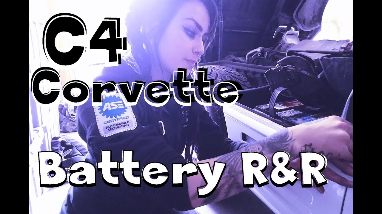 1993 corvette battery removal (and replacement!) - youtube  youtube