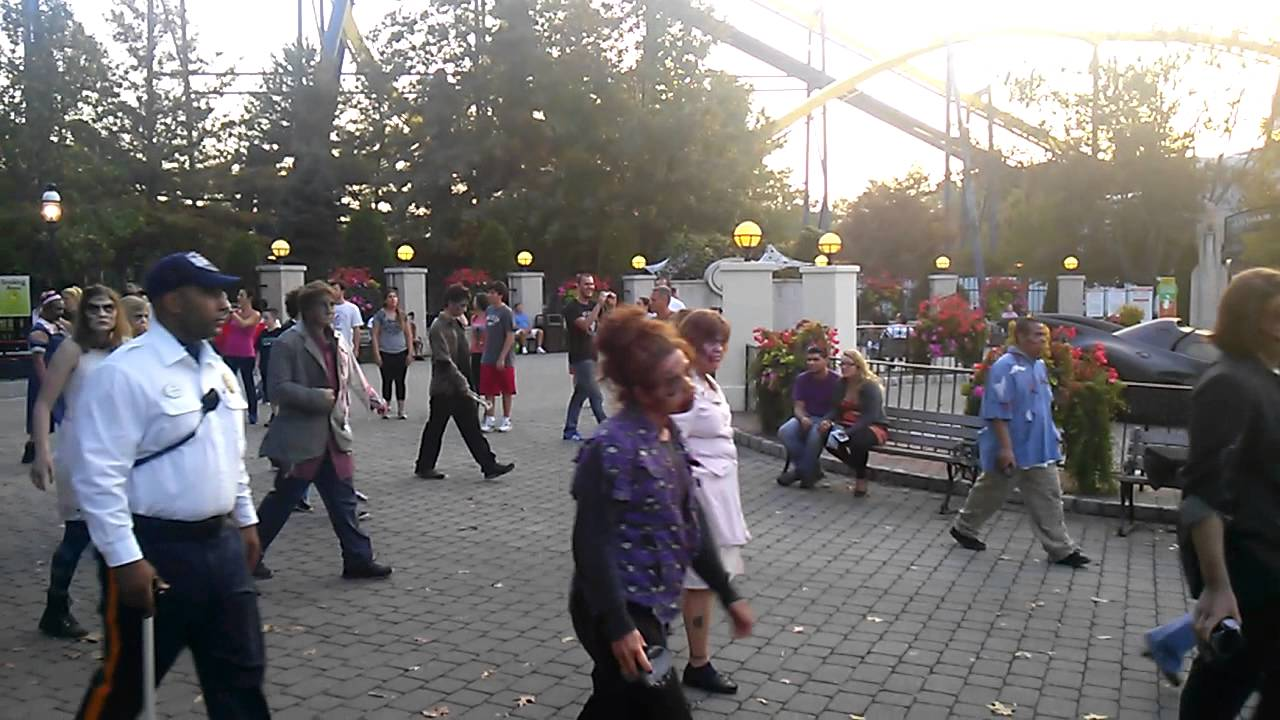 The Awakening Six Flags Fright Fest Jackson Nj