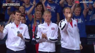 Davis Cup 2015 Final Andy Murray Vs David Goffin