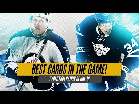 THE BEST CARDS IN NHL 18! NEW CARD TYPES, LEGENDS, AND MILESTONES!
