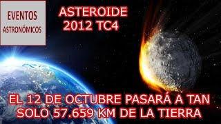 SE APROXIMA UN ASTEROIDE A LA TIERRA ESTA NOCHE (2012TC4) | @SoyHugoX