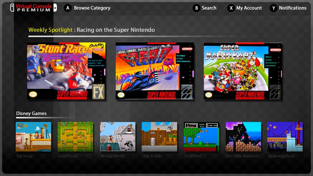 Switch Virtual Console