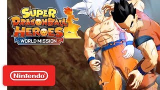 Super Dragon Ball Heroes: World Mission - Battle Gameplay Trailer - Nintendo Switch