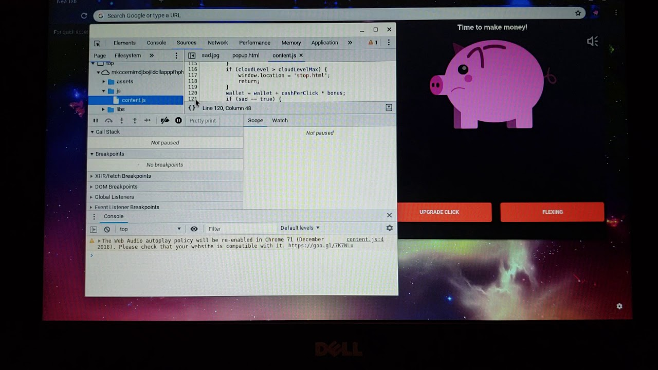 How to hack Piggy Bank (Chrome Extension)