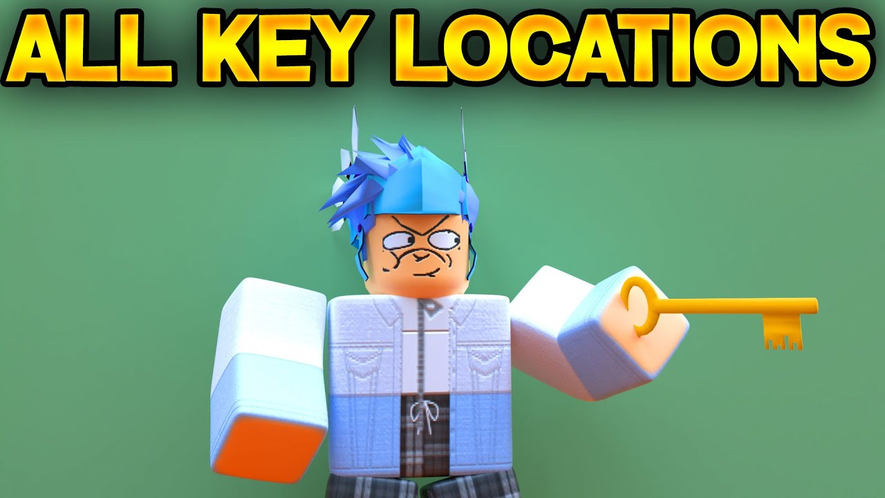 Roblox Key All Key Locations In Roblox Piggy Roblox Piggy Youtube