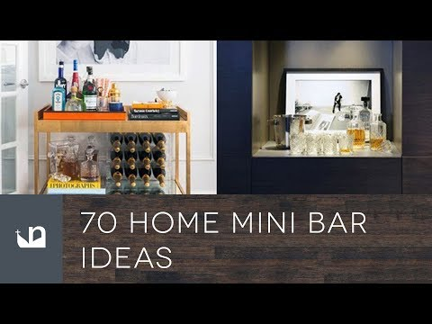 70 Home Mini Bar Ideas