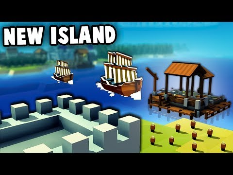 Building a NAVY!  Expanding Castles on NEW ISLANDS!  (Kingdoms and Castles New Update Ep 2)