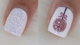 10 Easy Christmas Nail Art Ideas