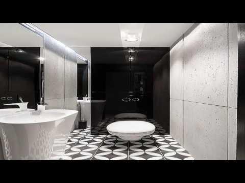 Black And White Small Bathroom Designs