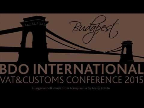 International VAT and Customs Conference, Budapest 2015
