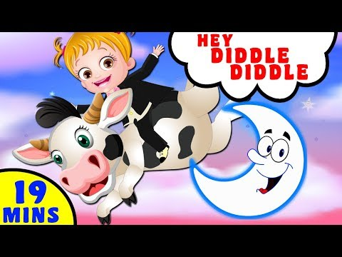 Hey Diddle Diddle - Song for Kids | Kindergarten Nursery Rhymes
