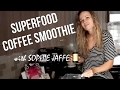 SUPERFOOD COLD BREW SMOOTHIE RECIPE | Sophie Jaffe