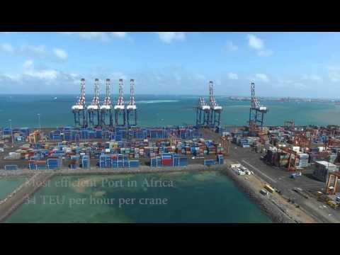 DJIBOUTI PORTS VIDEO