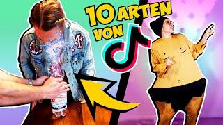 10 ARTEN VON TIK TOK MENSCHEN, DIE JEDER KENNT! Trends, Comedy, Pranks...