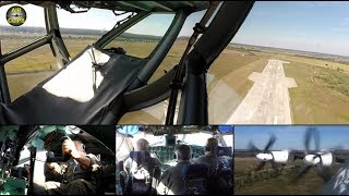 Antonov 22 ULTIMATE COCKPIT MOVIE 1 of 3 [AirClips full flight series]