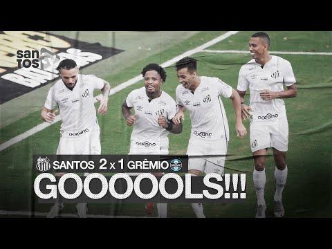 SANTOS 2 X 1 GRÊMIO | GOLS | BRASILEIRÃO (11/10/20)