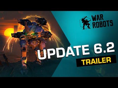 War Robots UPDATE 6.2 TRAILER (new EVENT, new ROBOT, new MAP)