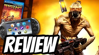 Resistance Burning Skies REVIEW (Playstation Vita) PS VITA HD Gameplay