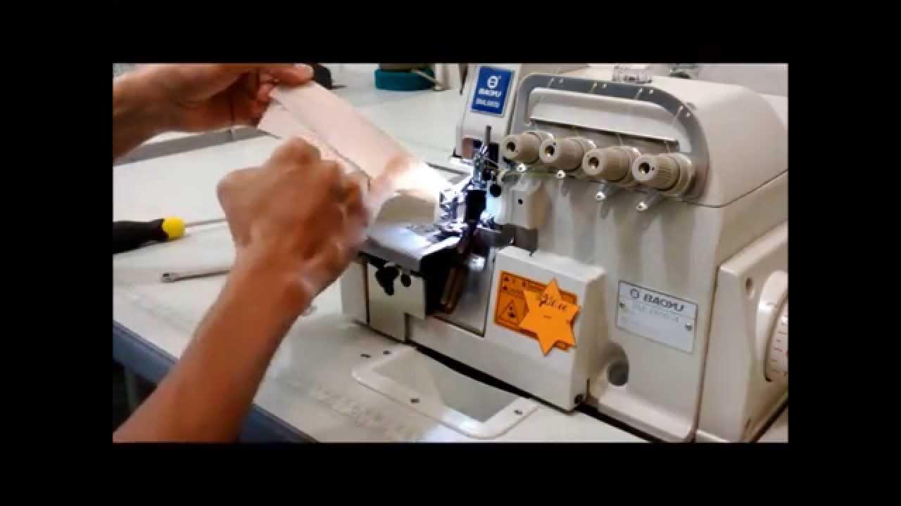 Como Sacar Y Poner Las Cuchillas De Una Overlock Industrial By Multimedia Jph
