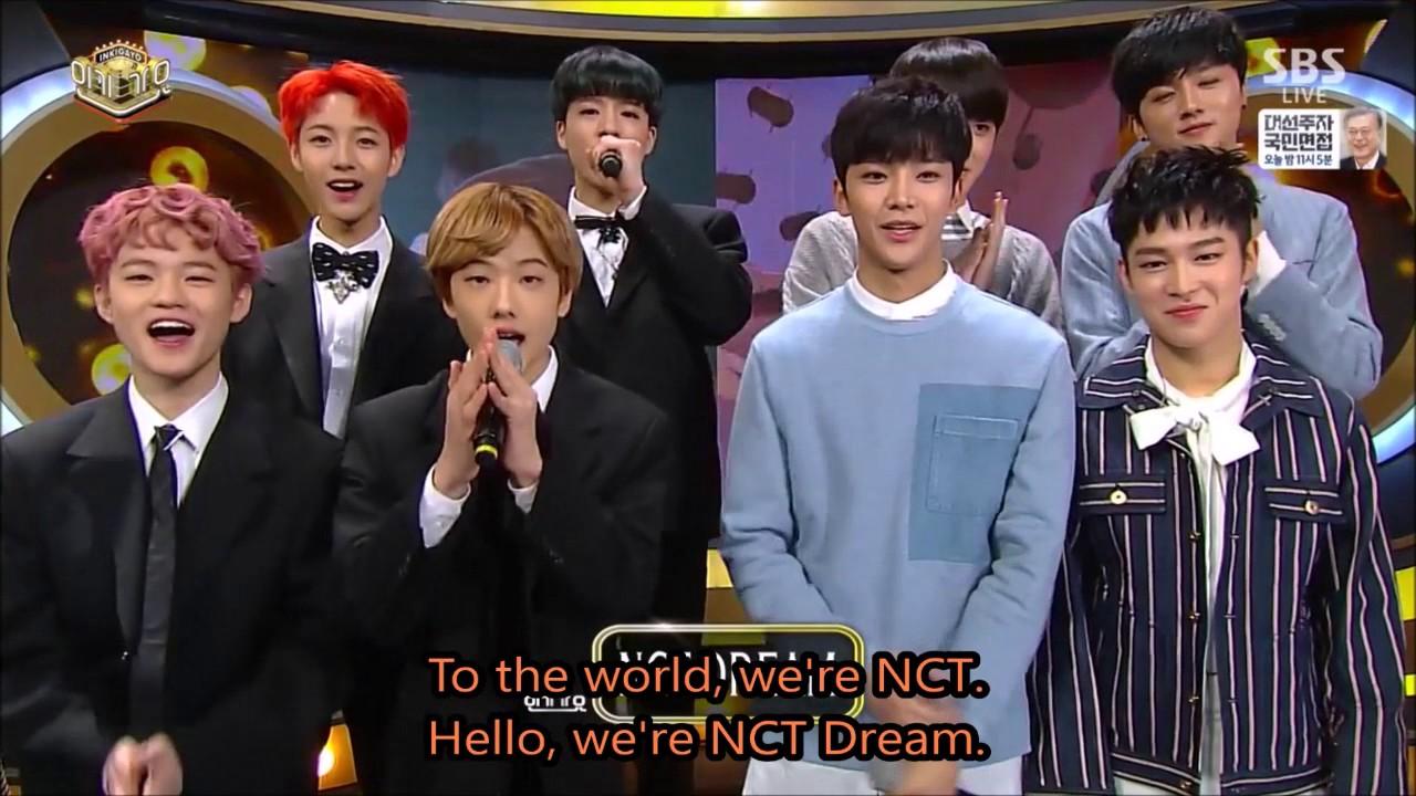 [ENG] Inkigayo (Day2) Jinyoung, Jisoo, Kwanghee, SF9, Cross Gene, NCT  Dream, Hong jin young