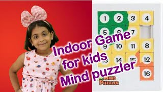Indoor Game for kids Mind puzzler/Brain puzzles for kids, Child brain development activities,#kids