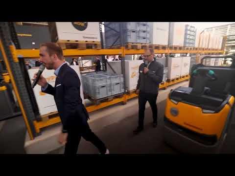 Jungheinrich live @ CeMAT 2018 Der ECE Kommissionierer mit easyPilot Follow