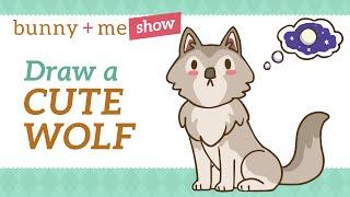 Kawaii Easy Kawaii Cute Wolf Drawings