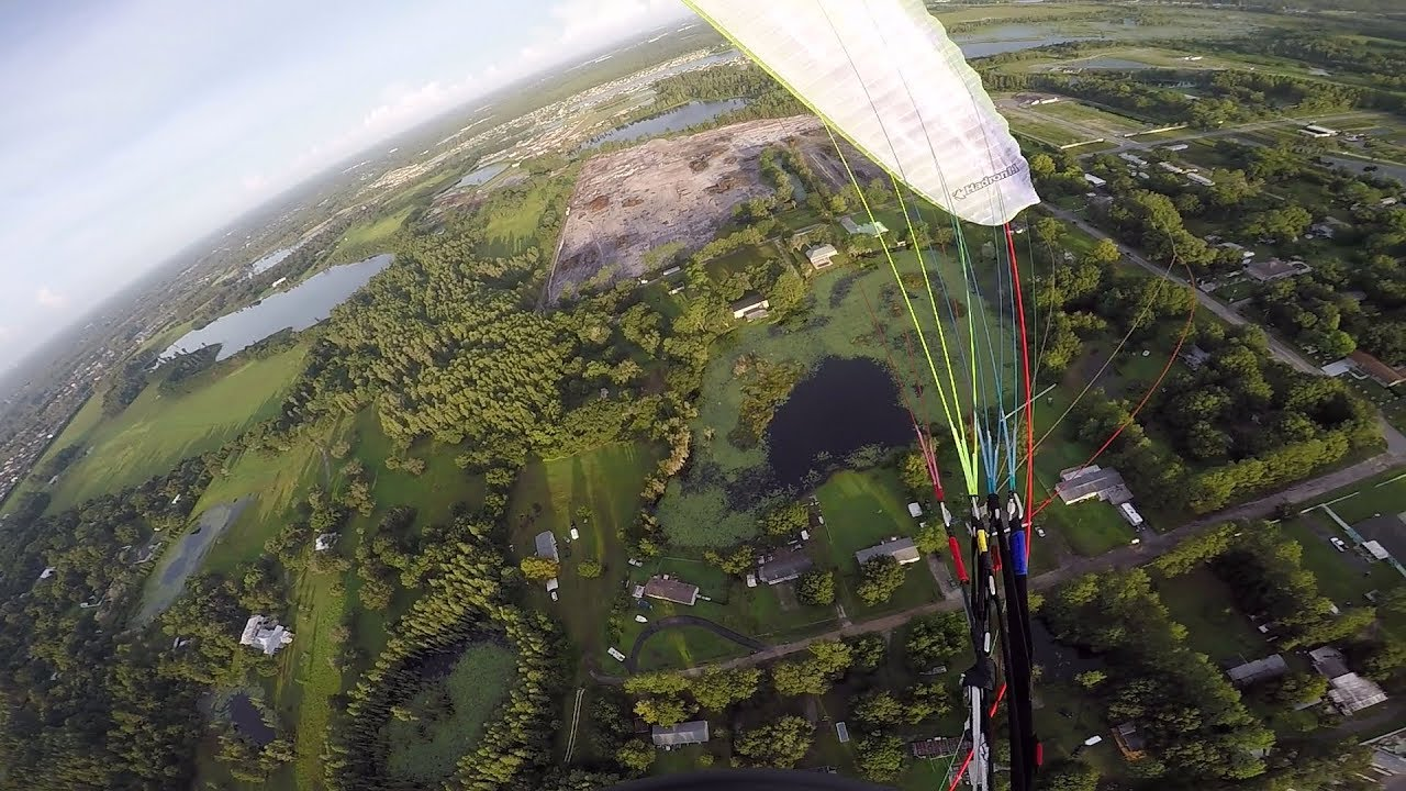 Virus PPG - Paramotor cross country flight with friends