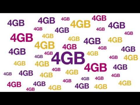 4GB Free Data