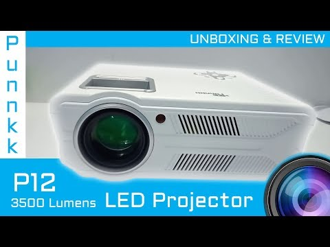 Punnkk P12 Full HD Projector | Unboxing & Review | Best Projector Under 20K |