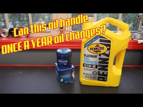 1 Year Oil Changes!!!???