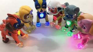 Paw Patrol Pups Turn into Mighty Pups Superheroes from the New Movie || Keith