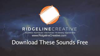 Free Thunder Sounds - Royalty Free Sound Effects - Sound FX
